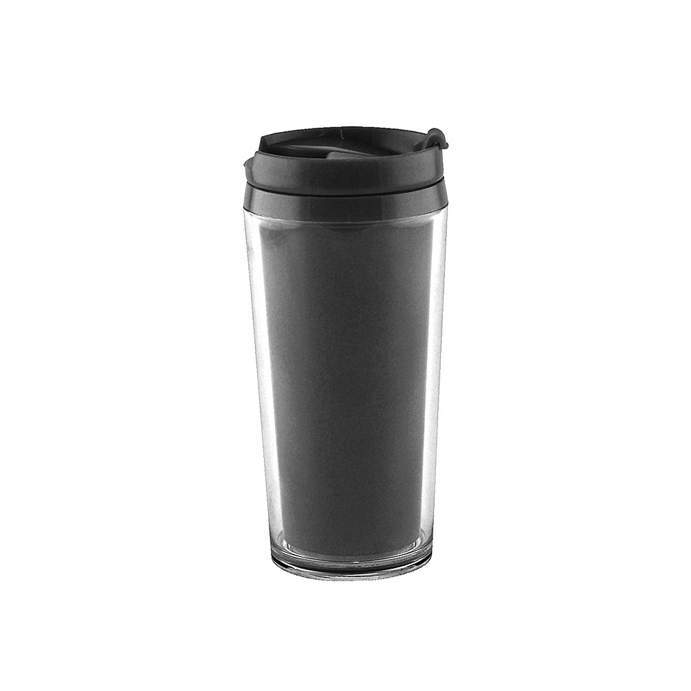 ON THE GO - Mug isotherme opaque 40 cl- Noir