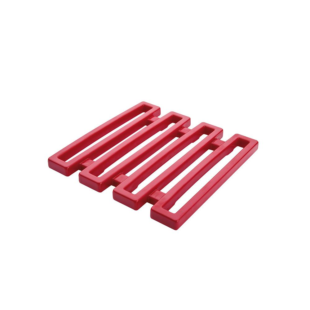 MEEME - Dessous de plat - 15 x15 cm - Rouge