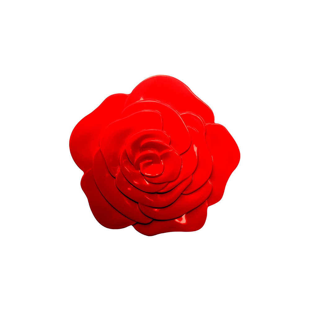 ROSE - Dessous de plat - Ø 15,5 cm - Rouge
