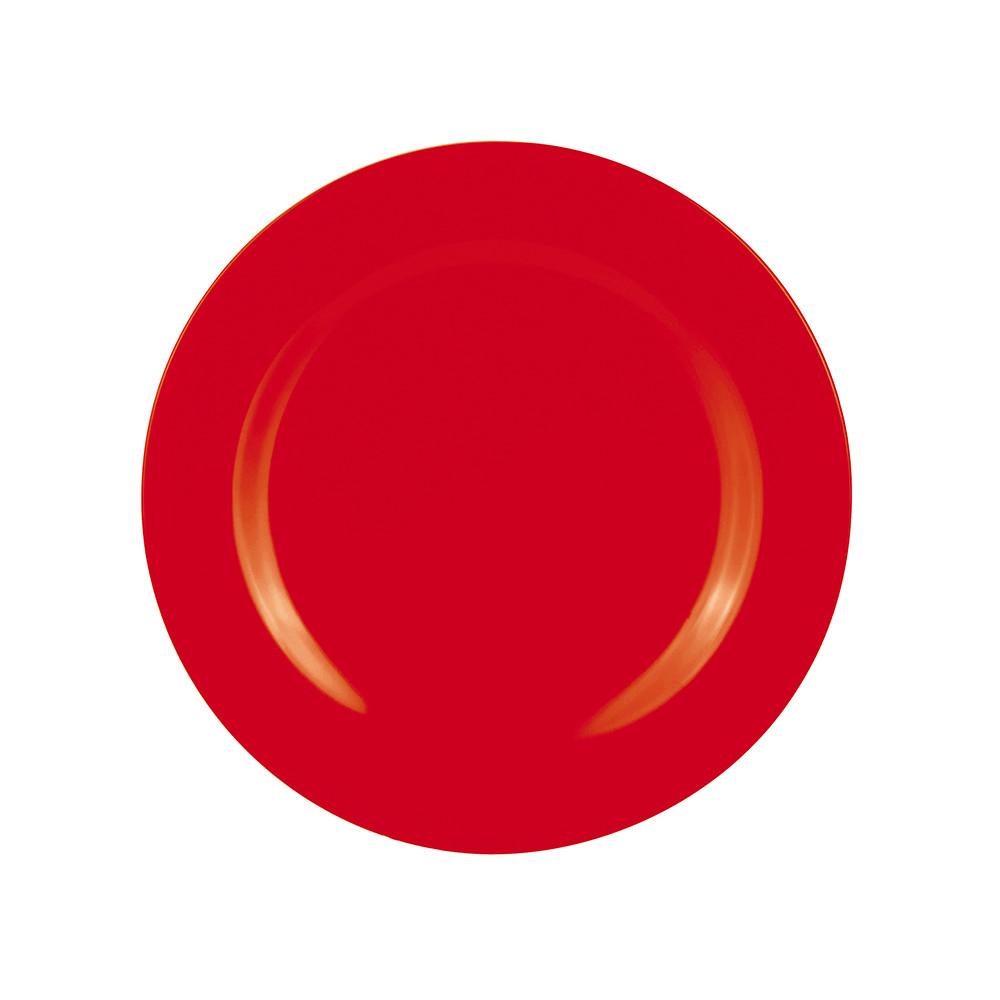 BBQ - Assiette - rouge