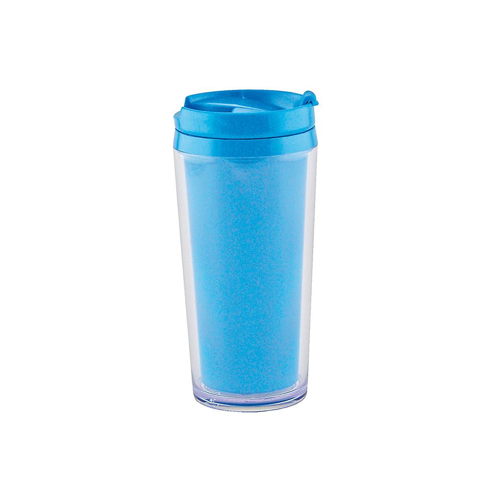 ON THE GO - Mug isotherme opaque 40cl  - Bleu aqua