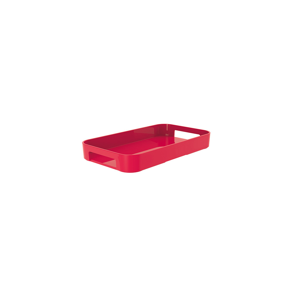 GALLERY - Plateau rectangulaire XS - grenadine