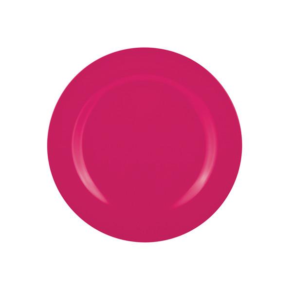 BBQ - Assiette 24 cm - grenadine