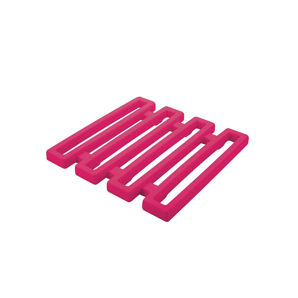 MEEME - Dessous de plat - 15 x15 cm - Grenadine