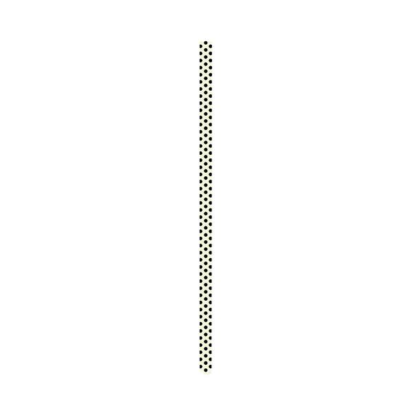 SWIRL - Paille 23 cm - noir