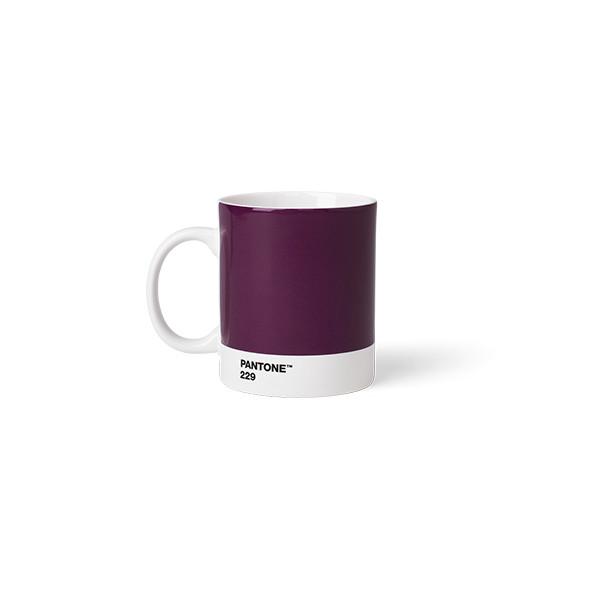 Mug en porcelaine - Aubergine 229 C