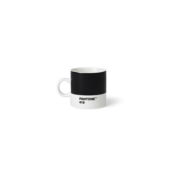 Tasse à expresso en porcelaine - Noir 419 C