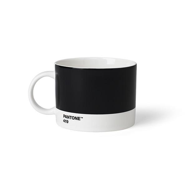 Tasse à thé en porcelaine - Noir 419 C