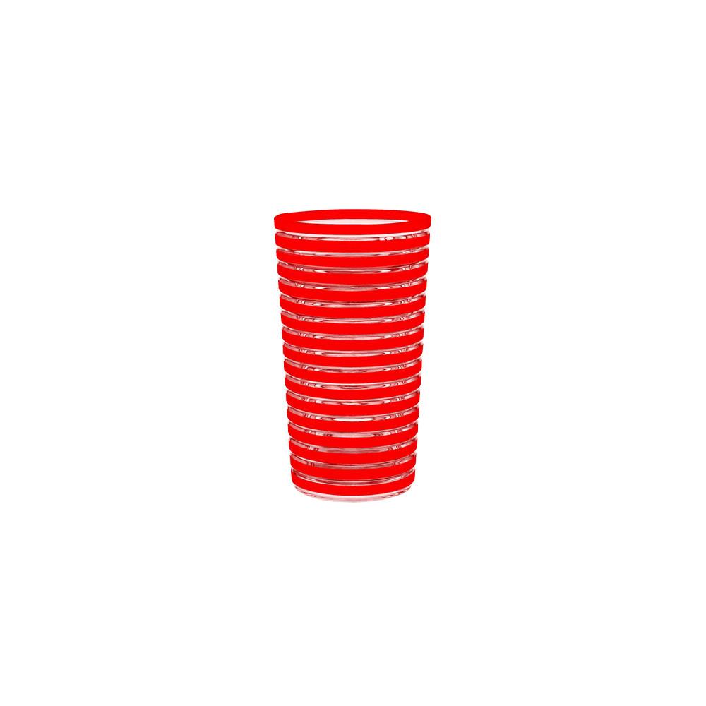 SWIRL - Verre 36 cl - rouge