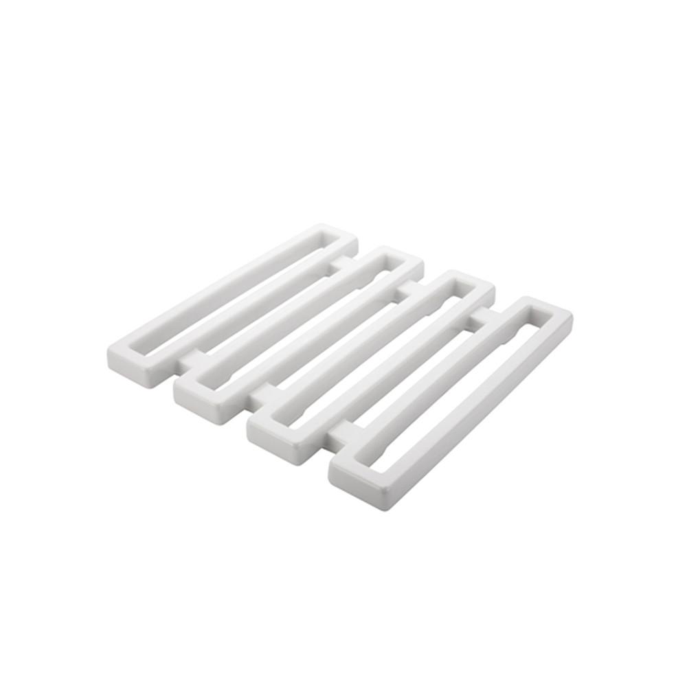 MEEME - Dessous de plat 15 x15 cm - Blanc