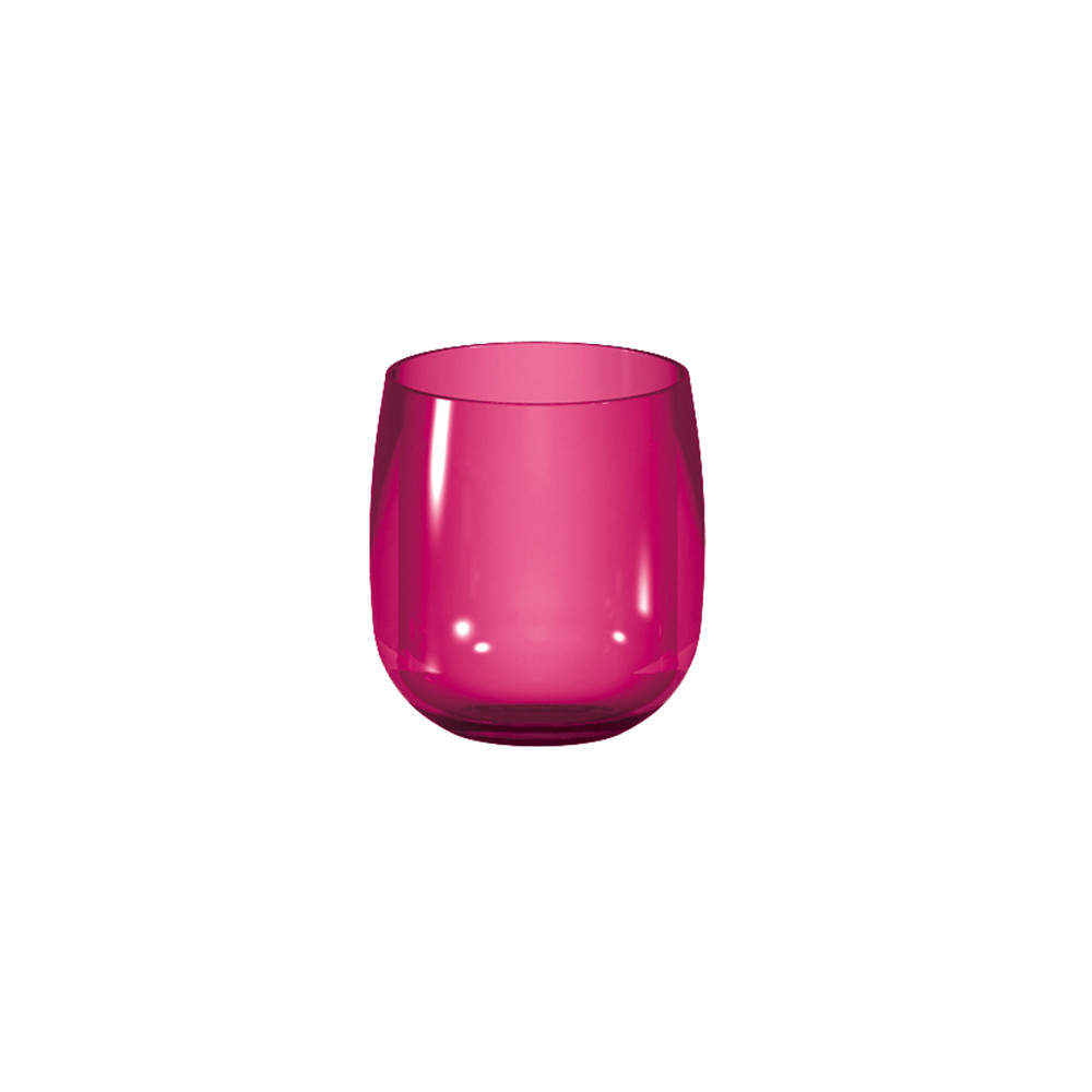 STACKY - Verre ballon empilable 30 cl - grenadine