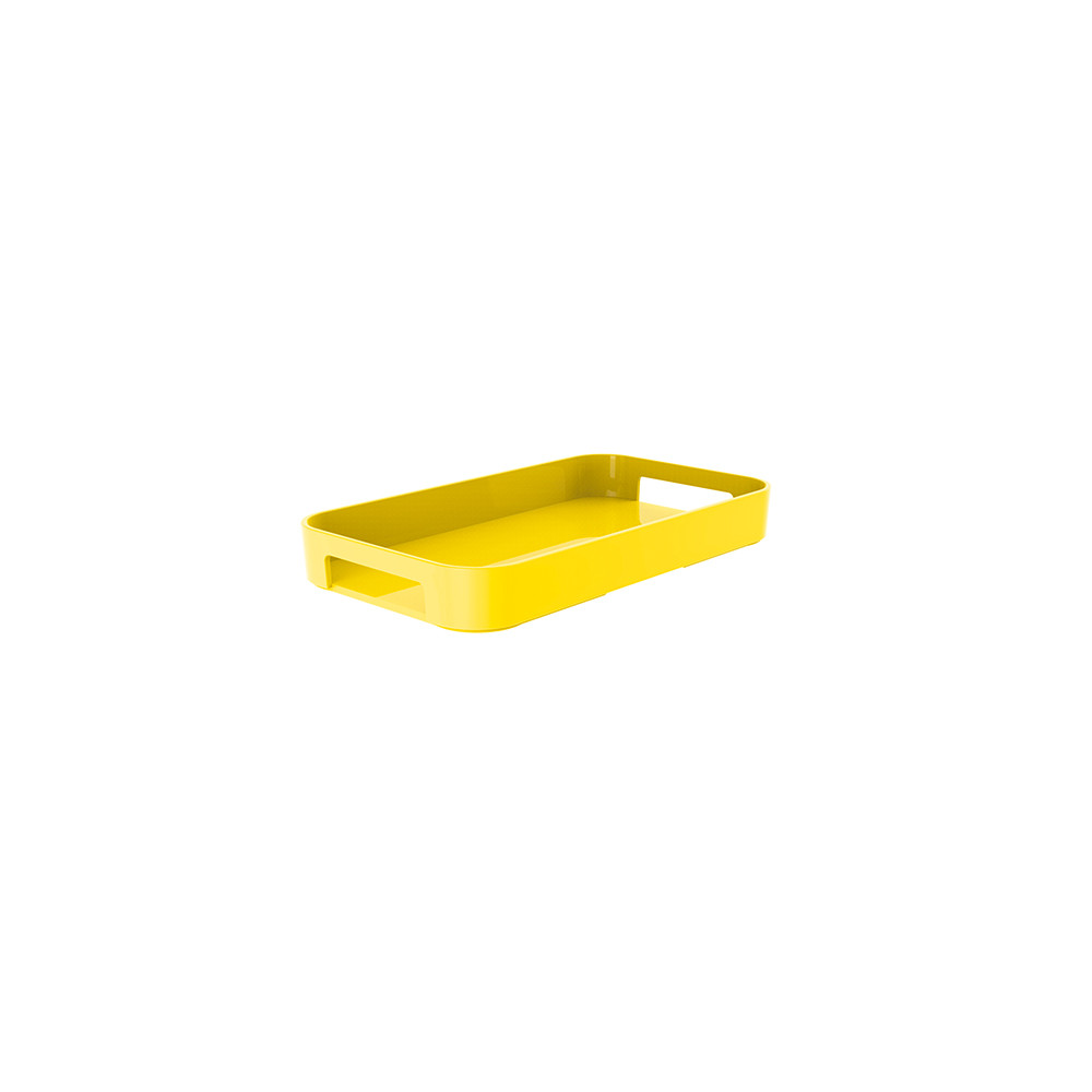 GALLERY - Plateau rectangulaire XS - jaune