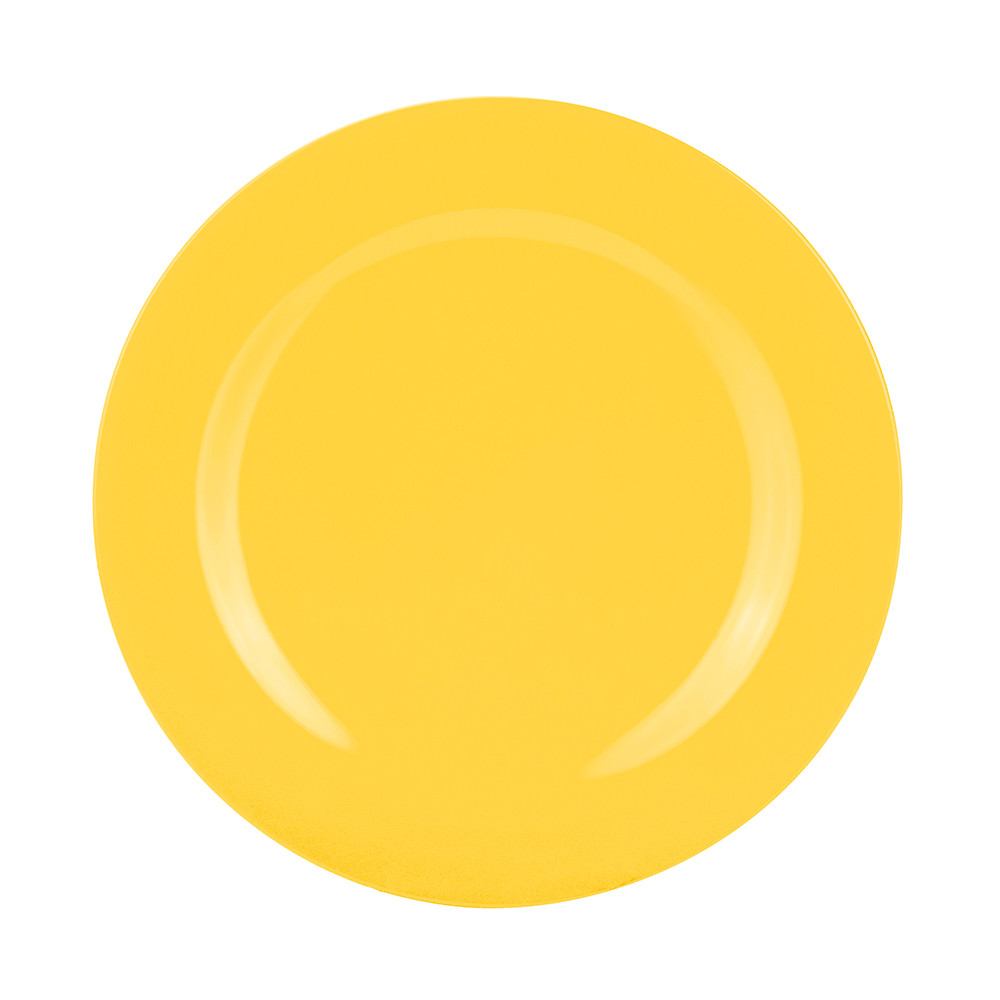 BBQ - Assiette 28 cm - jaune