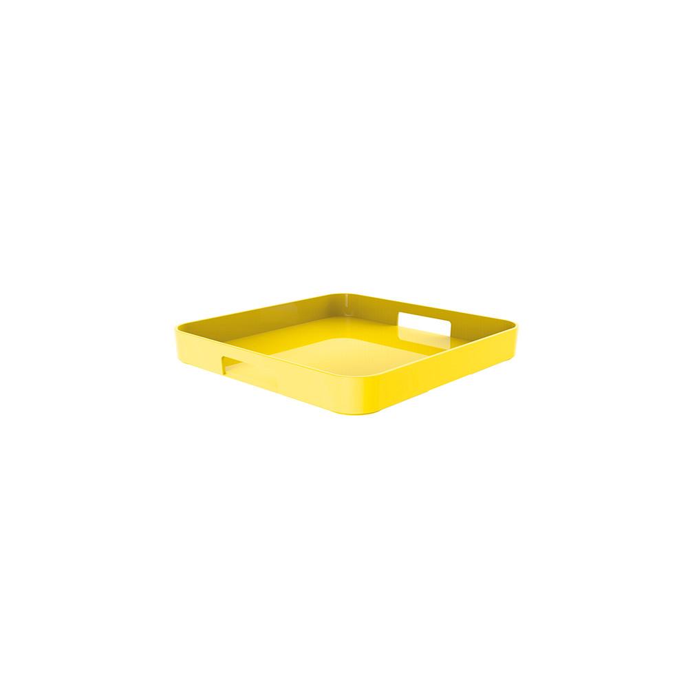 GALLERY - Plateau carré - jaune