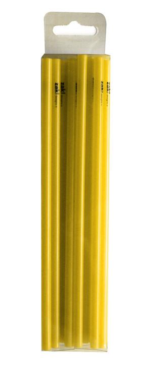 Pailles jetables S - 15 cm - Jaune (50 par boîte)