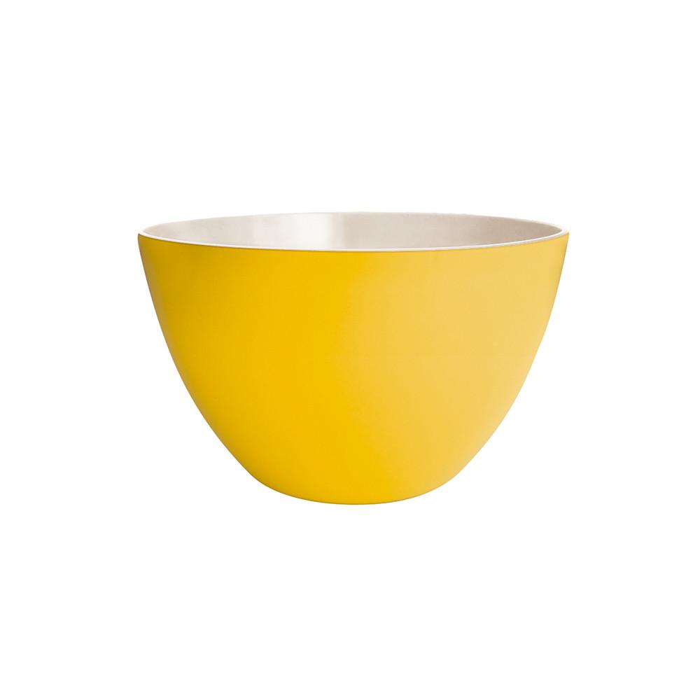 DUO - Saladier bicolore 18 cm - jaune/blanc