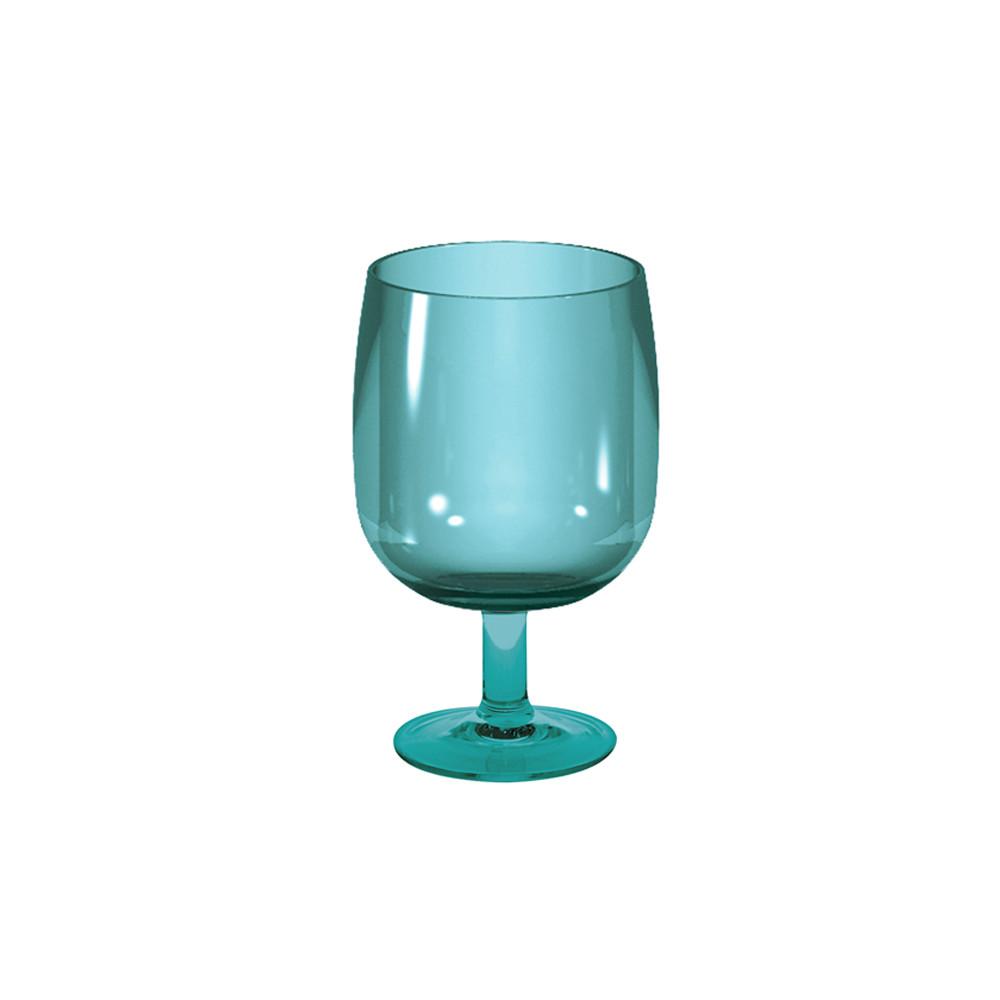 STACKY - Verre à pied empilable 25 cl - bleu aqua