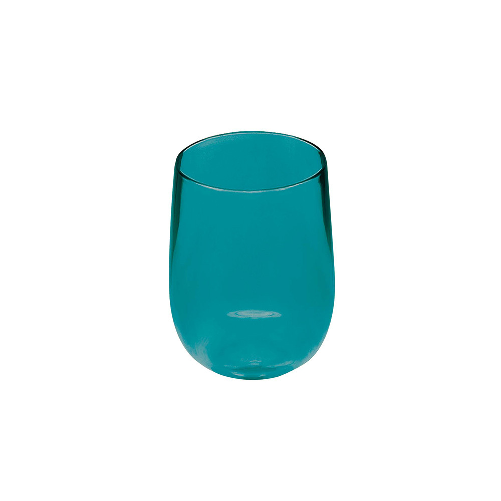 STACKY - Verre ballon haut empilable 44 cl - bleu aqua