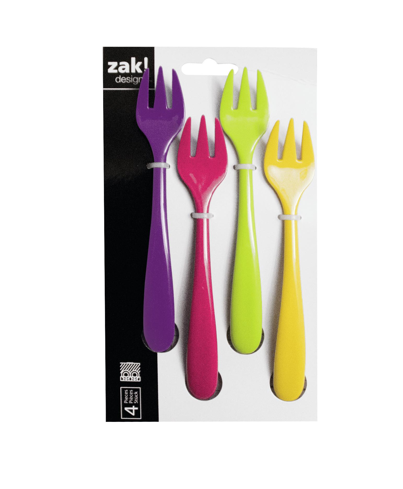 SWEETY - Set de 4 fourchettes à dessert - flora