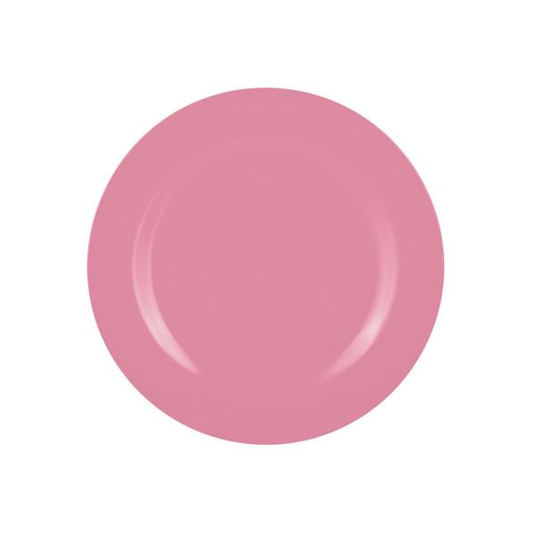 Assiette BBQ 24 cm - Rose bonbon