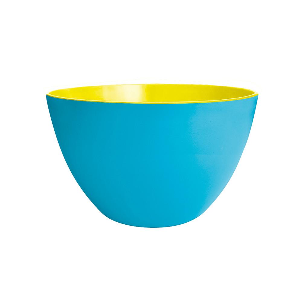DUO - Saladier bicolore 22 cm - bleu/golden