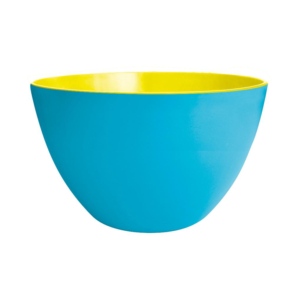 DUO - Saladier bicolore 28 cm - bleu/golden