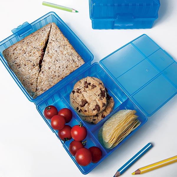 smiley junior lunch box compartiment e n2j. Black Bedroom Furniture Sets. Home Design Ideas