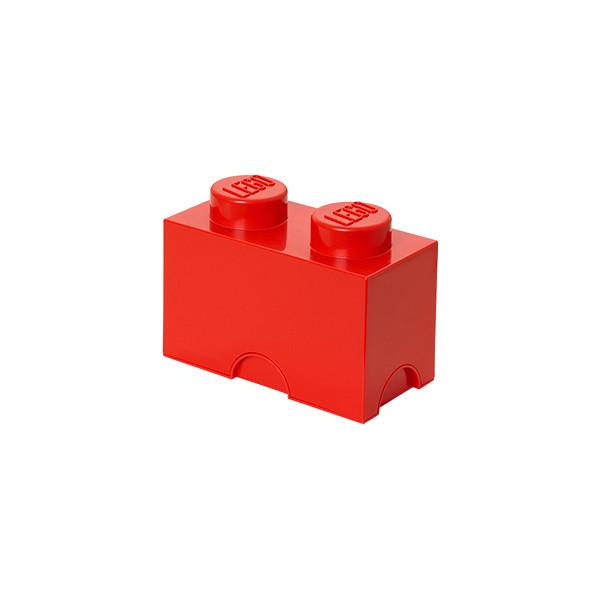 Brique de rangement empilable 2 - Rouge