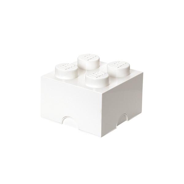 Brique de rangement empilable 4 - Blanc