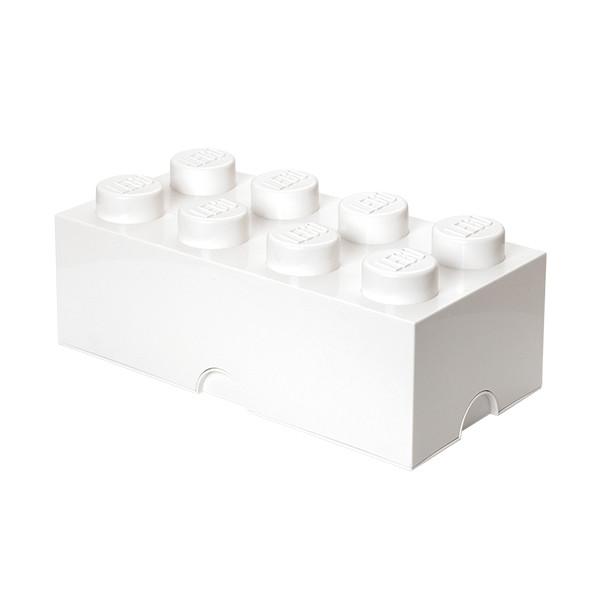 Brique de rangement empilable 8 - Blanc
