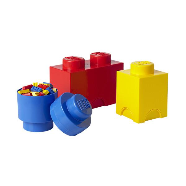 Pack de 3 briques de rangement