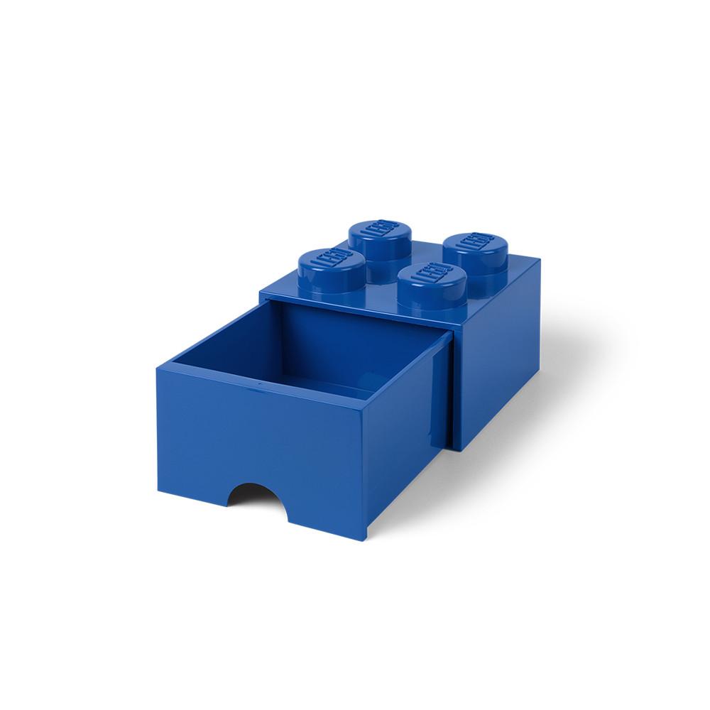 Brique de rangement 4 à tiroir - bleu