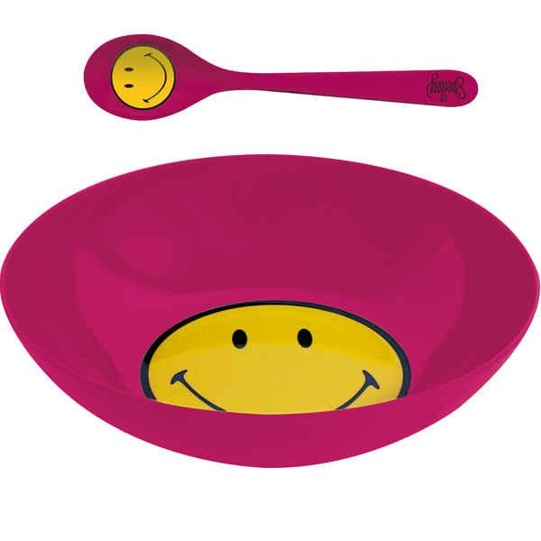SMILEY - Sets bol & cuillère à céréales