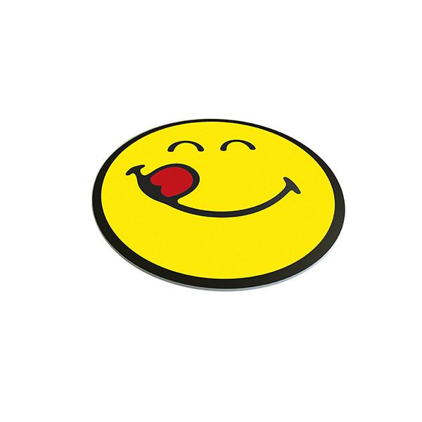 Planche/dessous de plat rond - Smiley