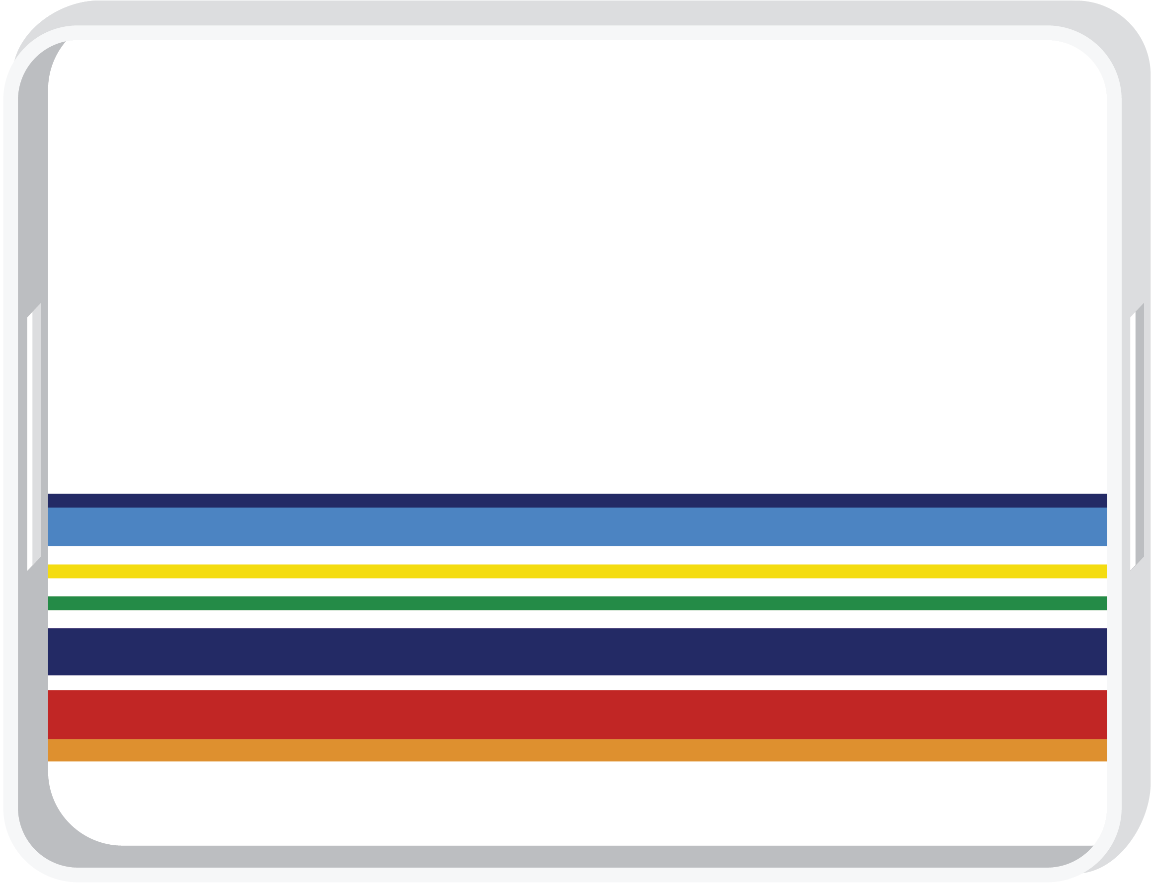 RIVIERA - Plateau à rayures