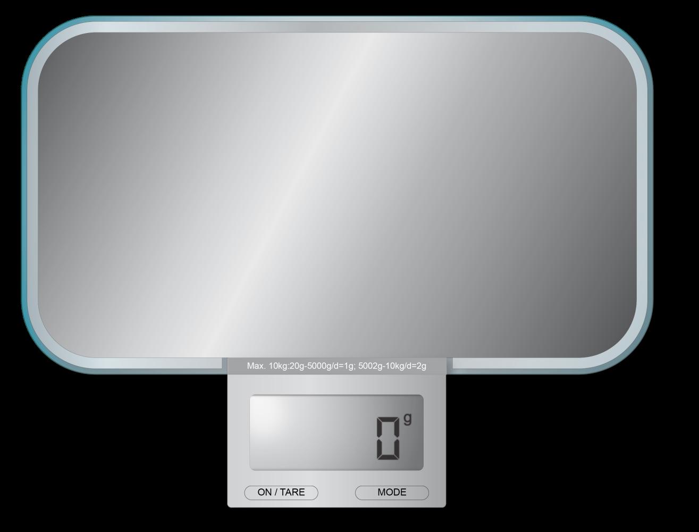 Balance de cuisine électronique SLIM - miroir