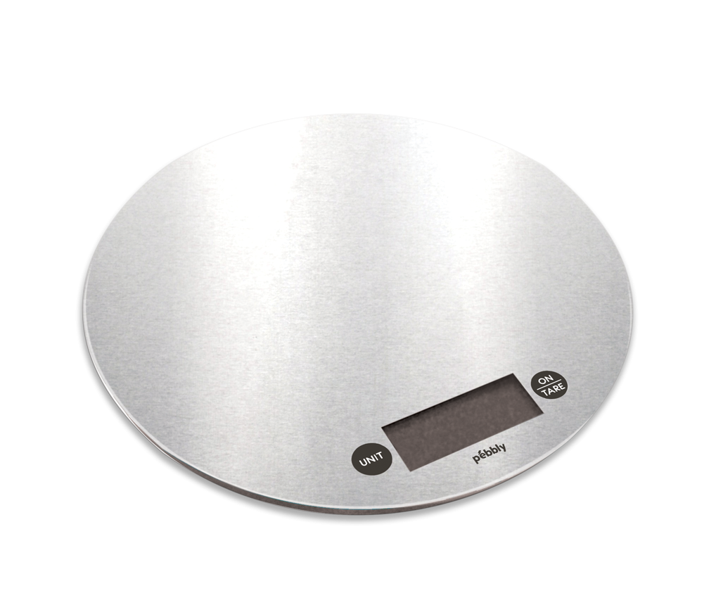 Balance de cuisine électronique ronde