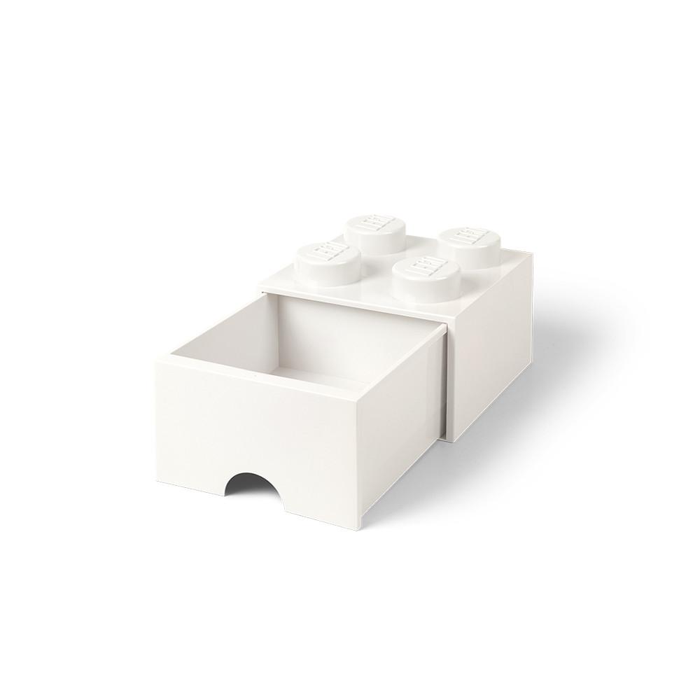 Brique de rangement 4 à tiroir - blanc