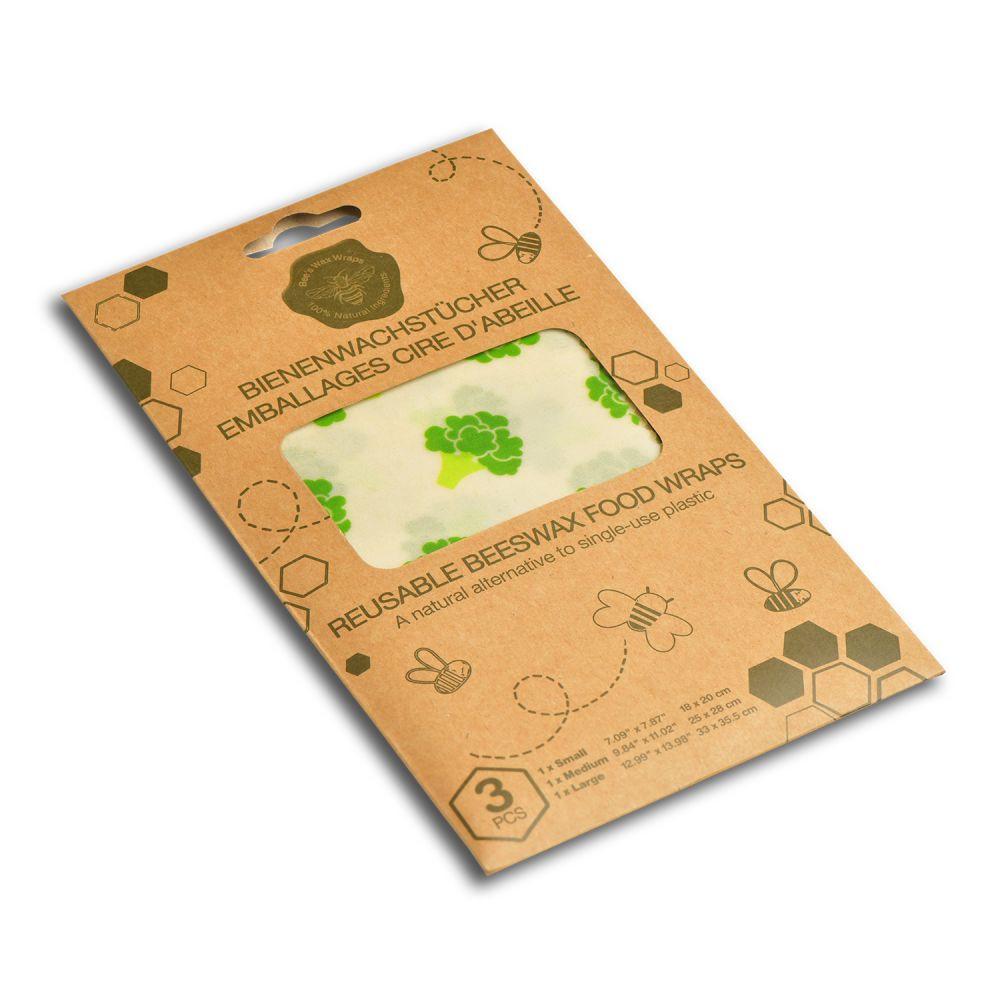 Set de 3 feuilles emballage alimentaire