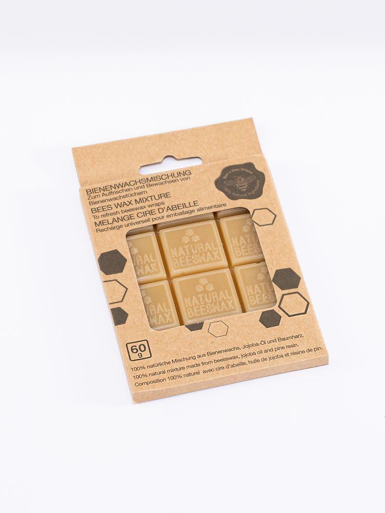 Cubes de cire pour emballage alimentaire
