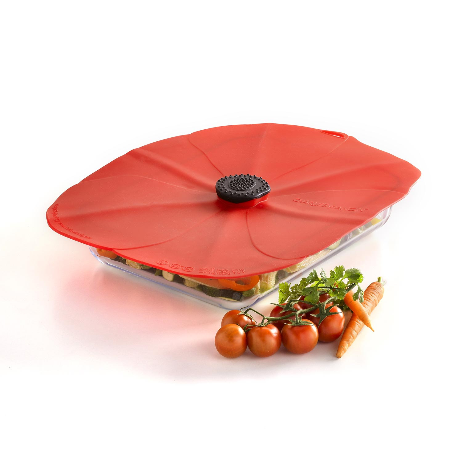 Couvercle rectangle - COQUELICOT