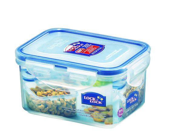 Boîte rectangulaire haute - 470 ml