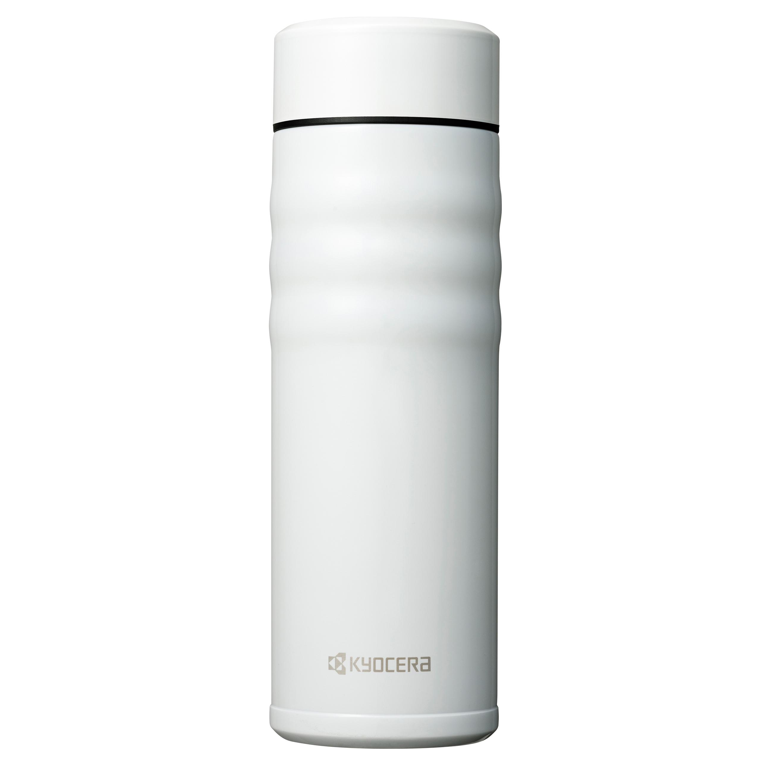 CERAMUG - Mug isotherme bouchon twist 500 ml - blanc