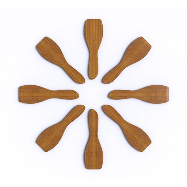 Set de 8 spatules à raclette