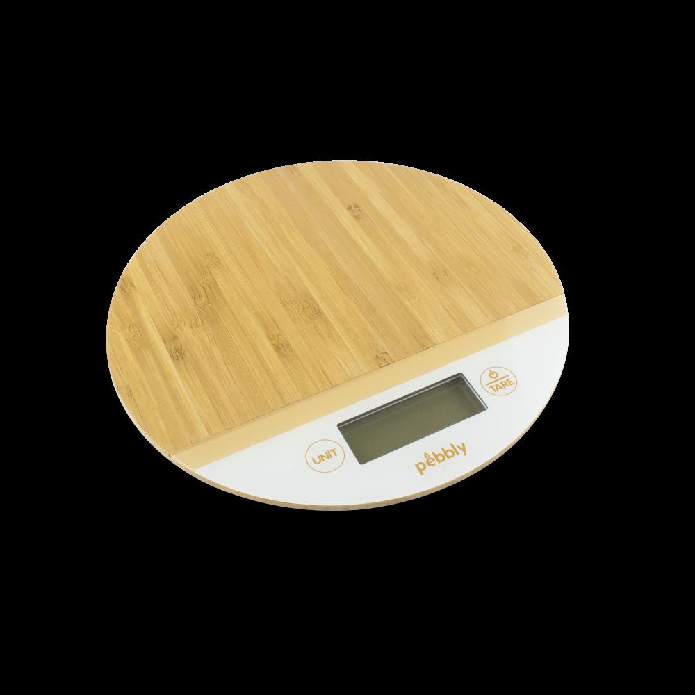 Balance ronde en bambou