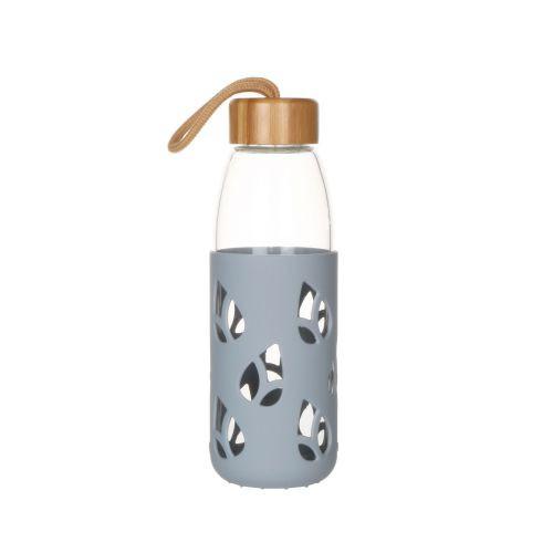 Bouteille en verre et silicone nomade 55 cl