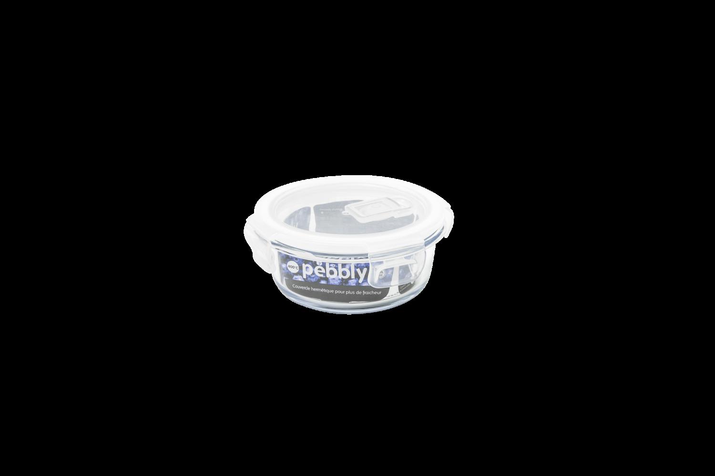 Plat/boîte ronde en verre 400 ml