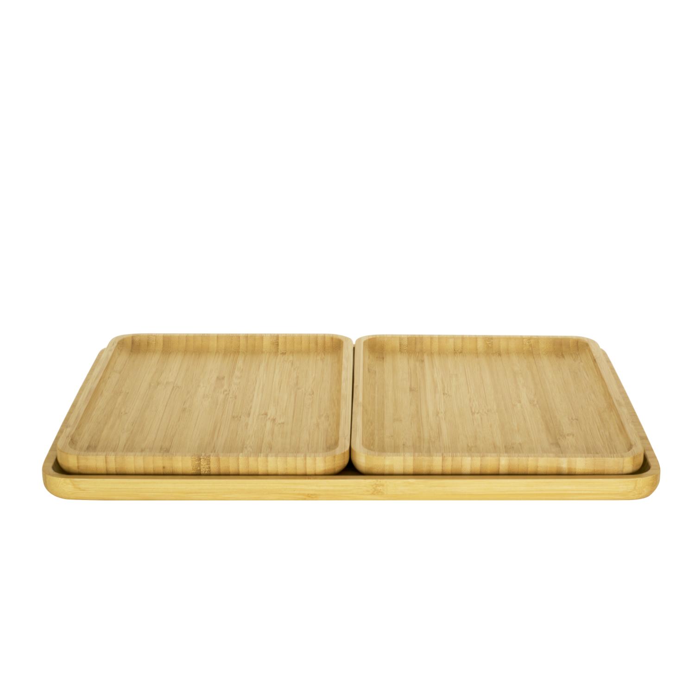 Plateau en bambou naturel