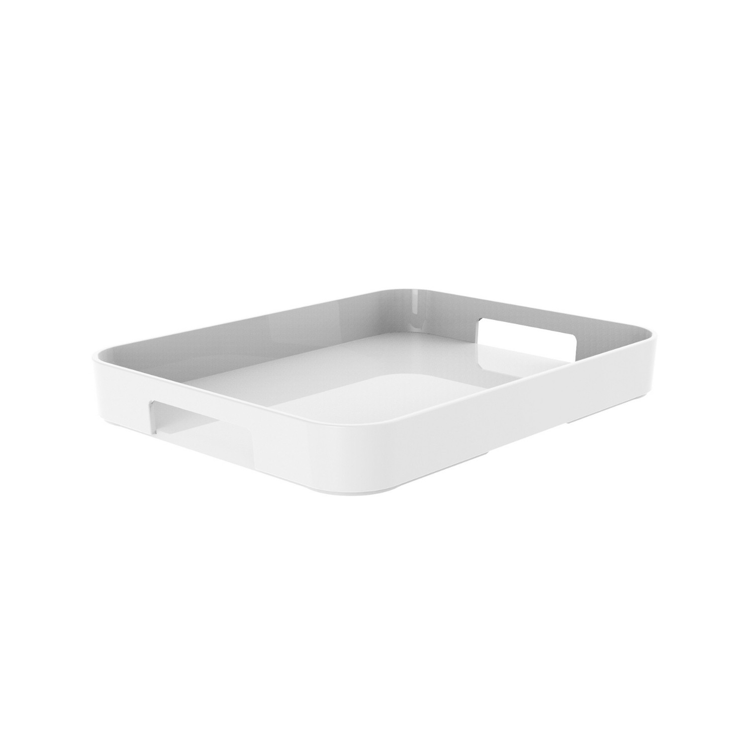 GALLERY - Plateau rectangulaire L - blanc