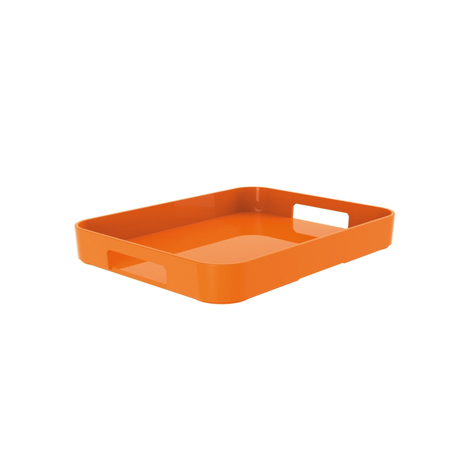GALLERY - Plateau rectangulaire M - corail